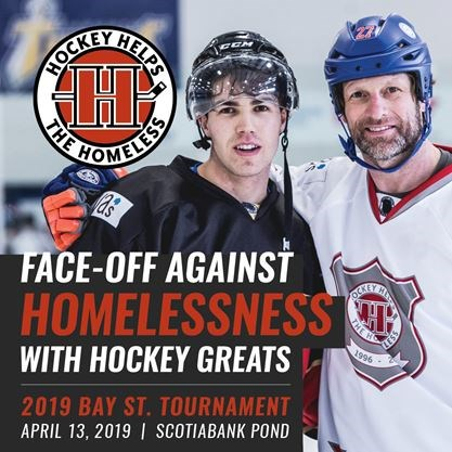 Hockey Helps The Homeless Bay St Tournament On April 13 2019