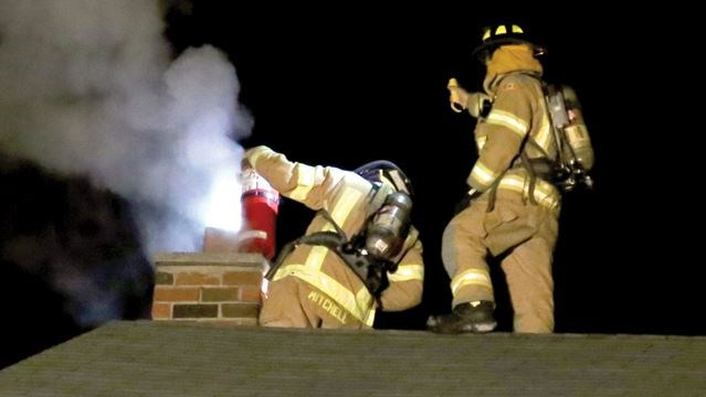 Pickering Firefighters Put Out Dellbrook Avenue Chimney Fire