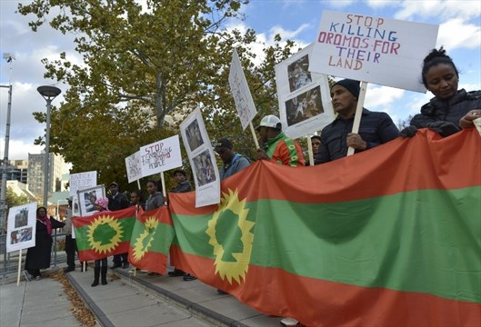 Local Oromo community speaks out for peace