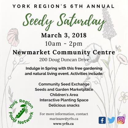 York Region Seedy Saturday FINAL