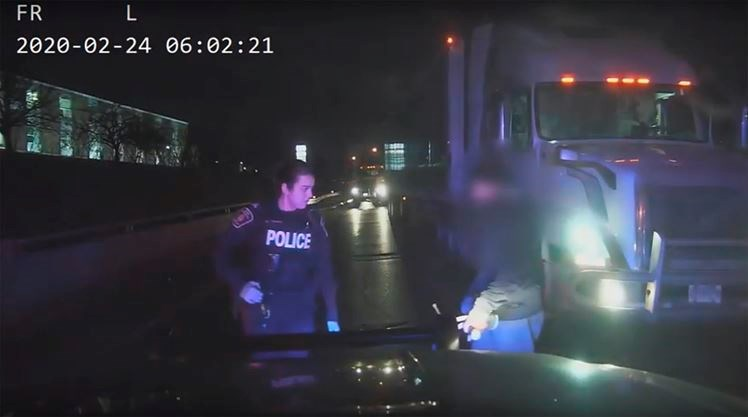 Suspected impaired driver
