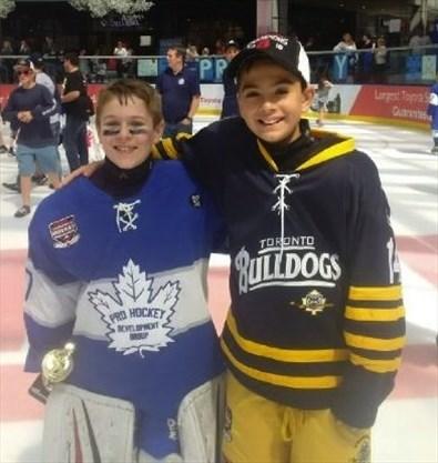 Oakville Rangers Aaa Atom Teammates Take Their Skills To Edmonton