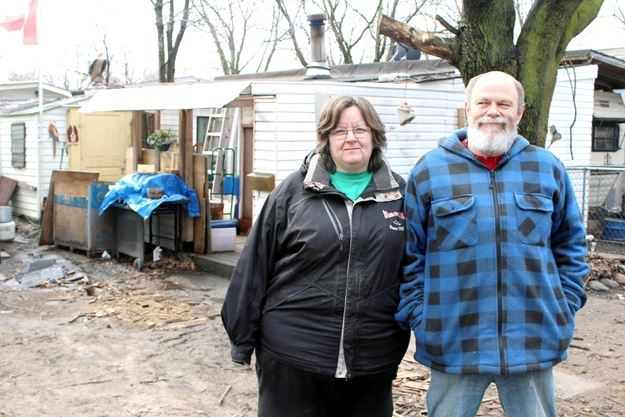 Diane Livingstone 52 Left And Jack Balkema 57 Moved Into Crestwood Trailer Park In Burford Just Over A Year Ago With The Understanding That They Could