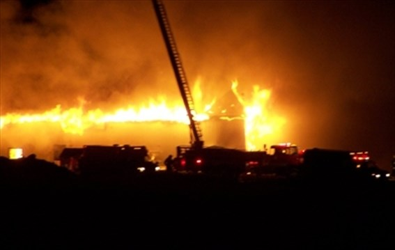 Cayuga poultry barn blazes for several hours | TheSpec com