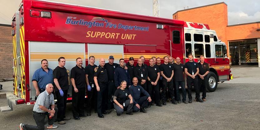 Burlington Fire Department gets $1.2 million support vehicle