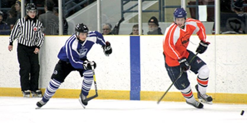 Greater Ontario Junior Hockey League Hosts Games In Ancaster