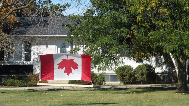 Opinion No Honour In Flying Canadian Flag Upside Down
