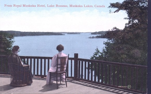 View From Royal Muskoka