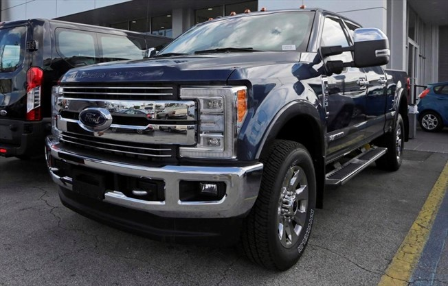A 2017 Ford F 250 Lariat Fx4 Pickups And High End Suvs Are Targetted By Thieves According To The Insurance Bureau Of Canada Alan Diaz Ociated