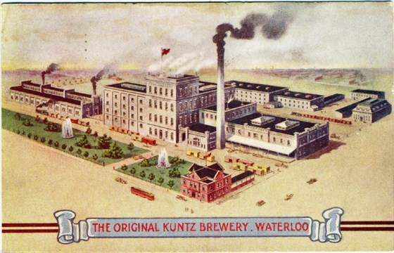 Flash From The Past What Remains Of The Kuntz Brewery Legacy Therecord Com