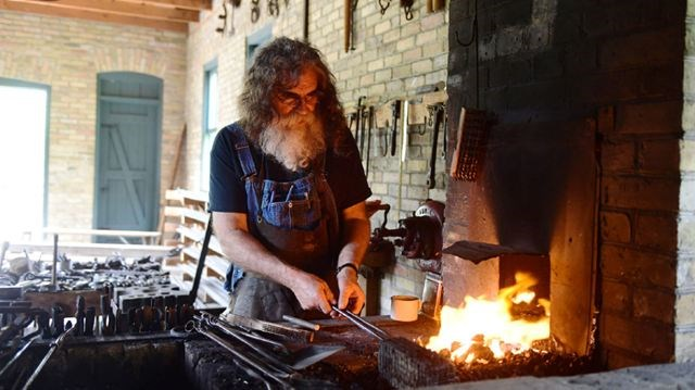 the modern appeal of the ancient art of blacksmithing