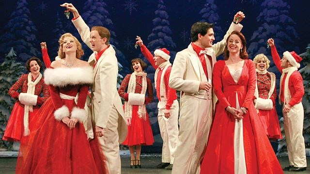 The Cast Of White Christmas.White Christmas Cast Dusts Off Their Dancing Shoes