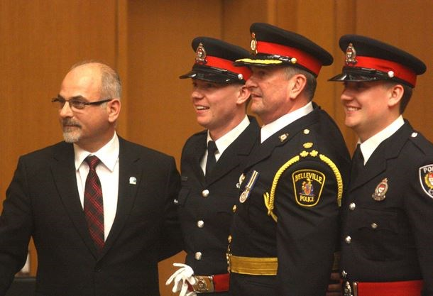 'I'm all in' says new Belleville Police Chief Ron Gignac at