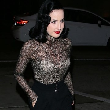 66a7567cade2 Dita Von Teese urges people to be more aware of HIV ...