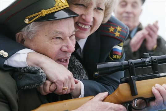 AK-47 designer Mikhail Kalashnikov remorseful of his weapon