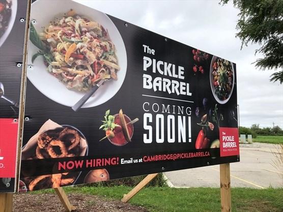 Pickle Barrel coming soon to Waterloo Region