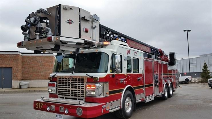 New fire apparatus