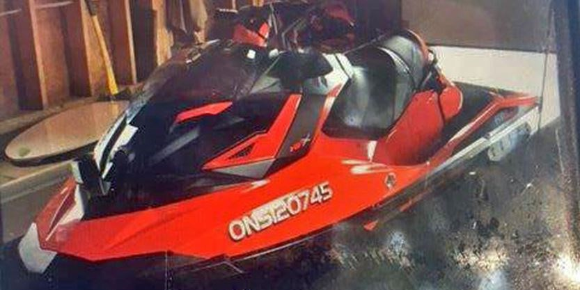 OPP investigating after Sea-Doo stolen from Tay Township dock