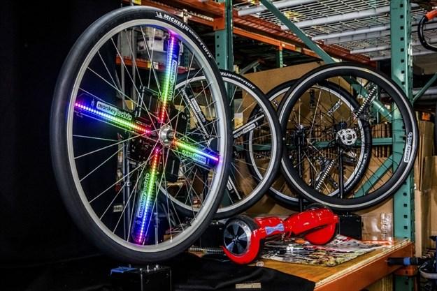 LED bike lights target night riders and 'burners' | TheRecord com