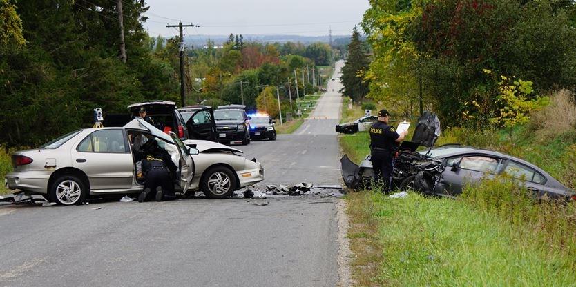 Police identify man killed in head-on crash north of Alliston