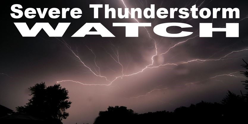 Severe thunderstorm watch issued for Durham Region