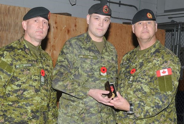 Cobourg soldier sees benefits from joining army reserve