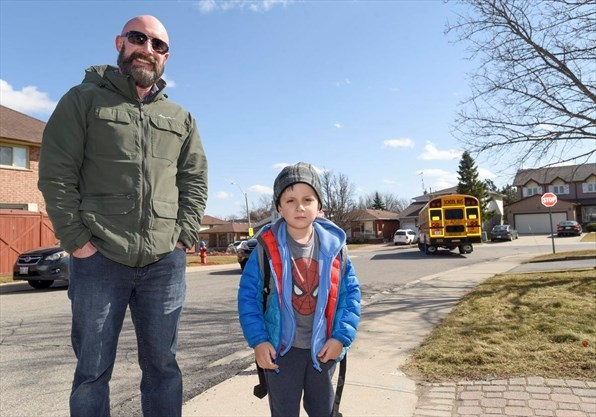 b15a6386eb Hamilton mom wants answers after five kids left waiting for no-show school  bus