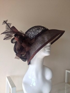 Etobicoke designer Amparo Findlay s  Spirited Away  earned a second-place  finish in Sunday s Queen s Plate millinery design competition. - Courtesy  photo 53a8e98f440