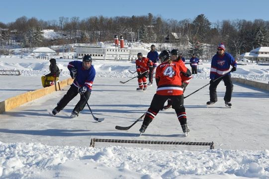 volunteers needed for upcoming pond hockey tournament