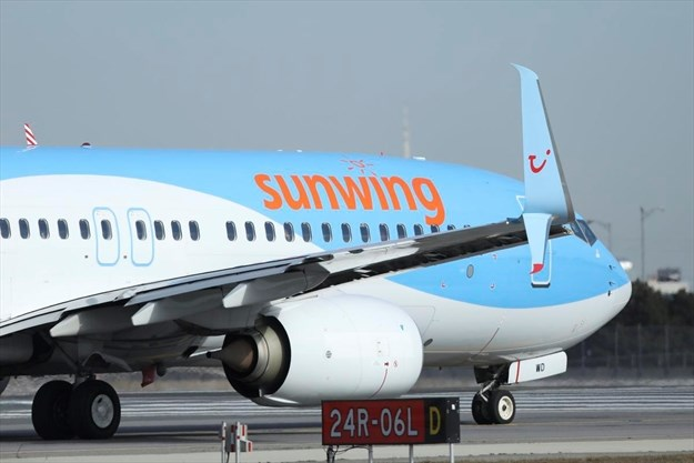 Sunwing temporarily grounds Boeing 737 Max 8 aircraft for