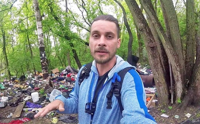 Cambridge man uses video to tell stories of homelessness