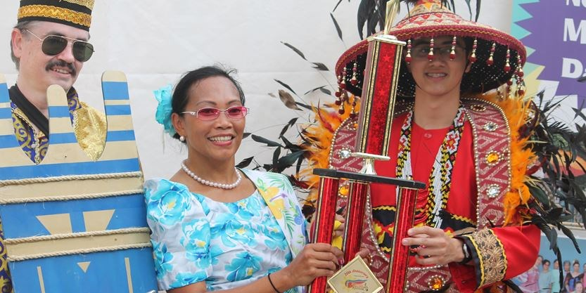 Northumberland dance troupe wins trophy at Filipino festival