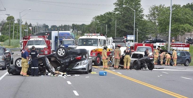 Hwy  Car Crash