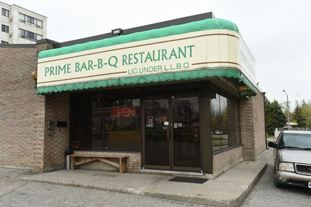 Prime Bar B Q Restaurant Kitchener On