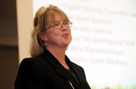 MIRANET Held Their Annual General Meeting At The Civic Centre On Tuesday Evening Dorothy Tomiuk Spokesperson Spoke To Crowd About Several
