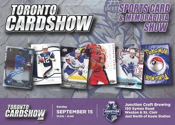 Toronto Card Show Sports Cards Beer On September 152019