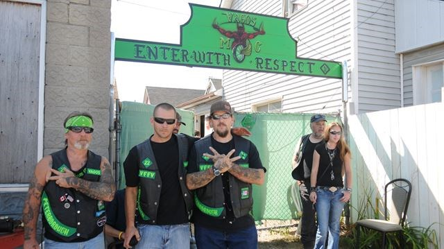 Police out in force around biker clubhouse | MyKawartha com
