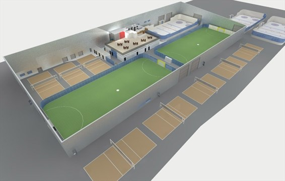 indoor sports complex coming to mississauga