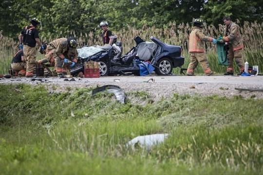 Car Crash Cambridge Ontario