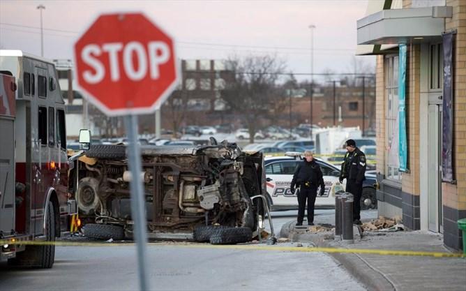 Driver killed in Alpine plaza crash is 40-year-old Kitchener man