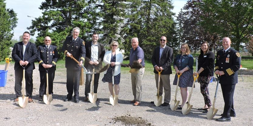 New fire hall for Thorndale
