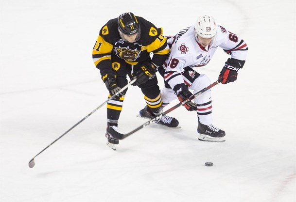 Ben Jones records first career OHL hat trick as IceDogs best