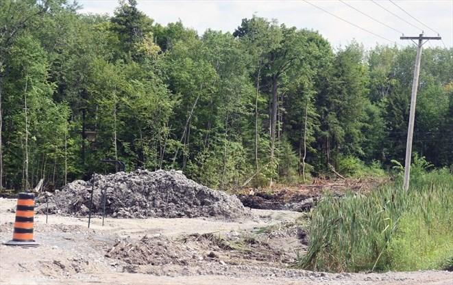 Blockade set up at site of new Hiawatha First Nation gas