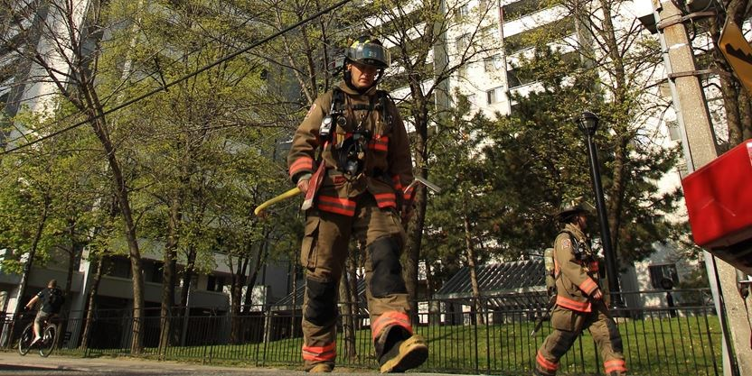 Luckily, No One Was Injured In This 2012 Incident At A Wellesley Street  Apartment After A Small Fire Triggered Alarms.   Toronto Star File Photo