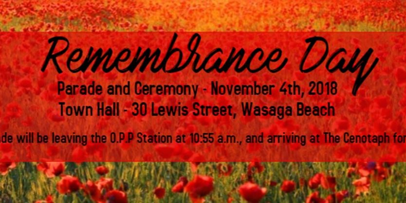 Remembrance Day Service on November 04,2018