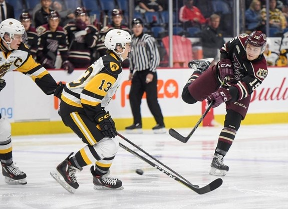 OHL: Thanksgiving Monday Road Win Moves Petes Into First Place In East Division | ThePeterboroughExaminer.com