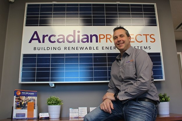 Baden's Arcadian Projects pushing green boundaries with large-scale energy solutions:Baden's Arcadian Projects has made it their goal to help Canadians breathe easier, as they build renewable energy projects