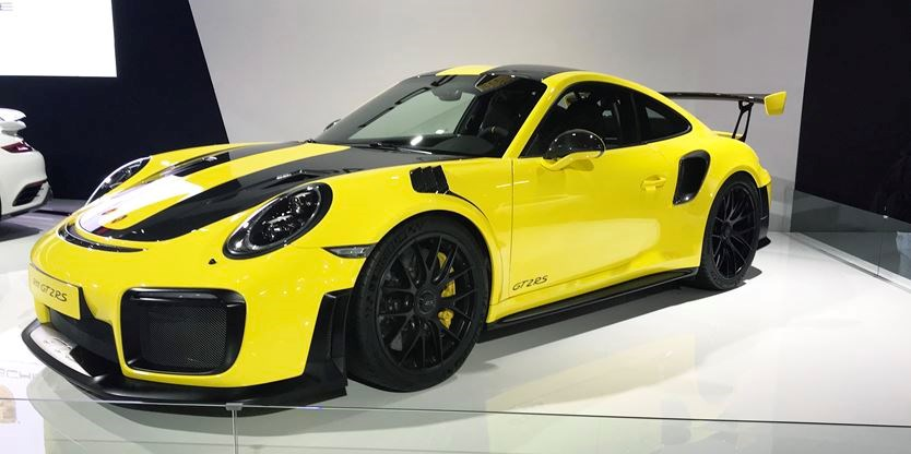 Porsche 911 Gt2 Rs Powers Into The Autoshow Ourwindsor Ca