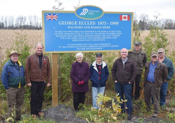 Image result for george eccles almonte