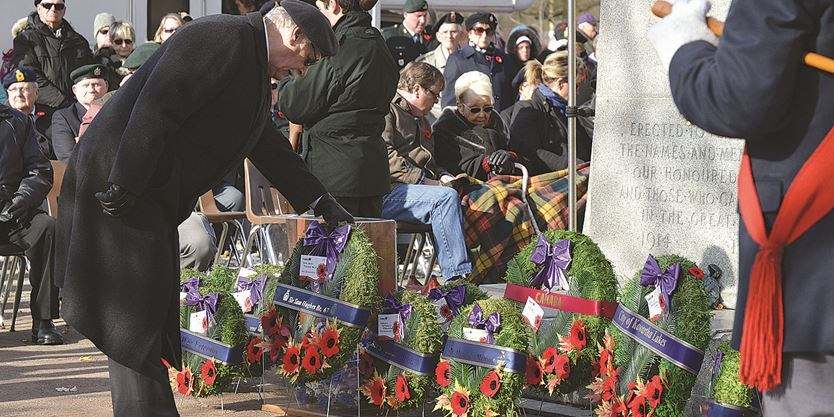 Remembrance Day in Lindsay (5)